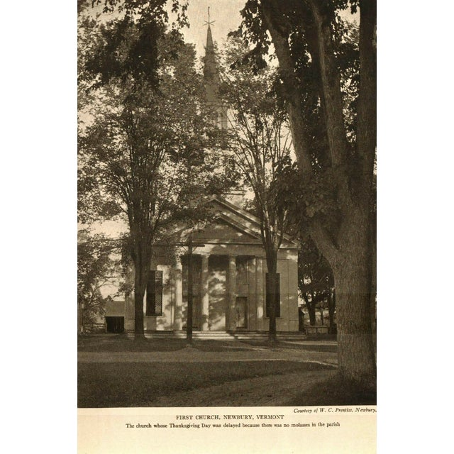 "Booth & Williams 1906 ""Old New England Churches and Their Children"" Collectible Book For Sale - Image 4 of 6"