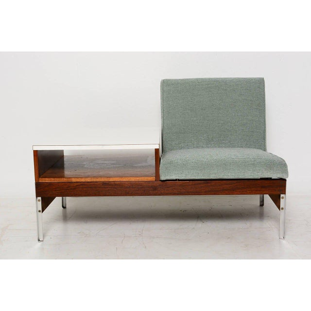 Mid-Century Seat & Table - Image 2 of 10