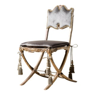 Late 19th Century Antique Ballroom Chair For Sale