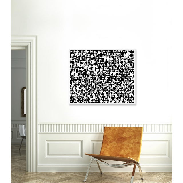 Giclée on textured fine art paper with white frame. Unframed print dimensions: 39.75x29.75 Largely influenced by her...
