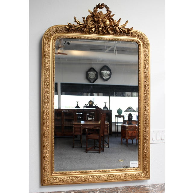 Early 20th Century French Gold Gilt Mirror - Image 7 of 7