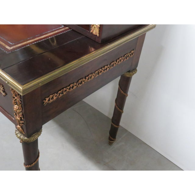 French Empire Style Desk For Sale - Image 10 of 12