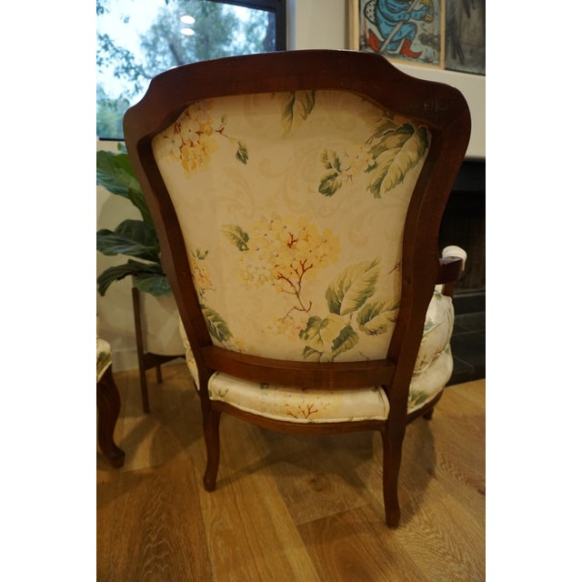 1980s Vintage French Berger Chairs- A Pair For Sale - Image 4 of 11