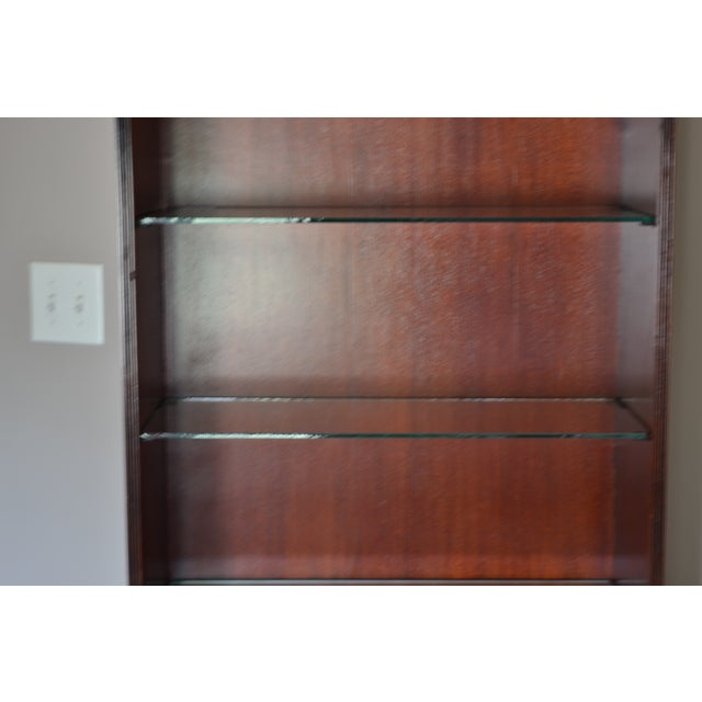 Mahogany Chinese Chippendale Bookcase - Image 7 of 9