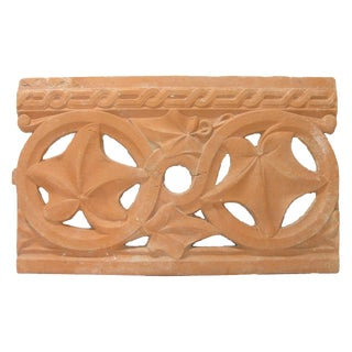 Antique French Terracotta Architectural Element For Sale
