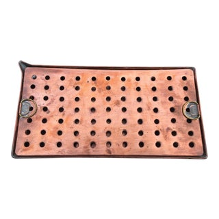 Copper Bar Drip Tray - 2 piece set