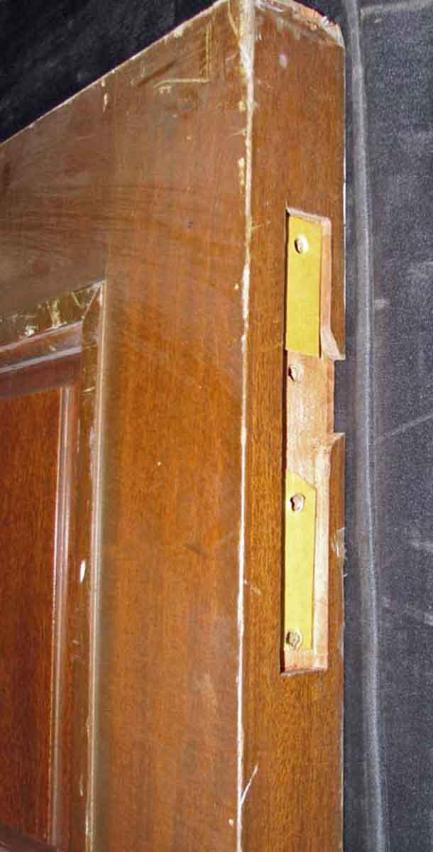 Reclaimed Antique Mahogany Veneer Door - Image 6 of 10  sc 1 st  Chairish & Reclaimed Antique Mahogany Veneer Door | Chairish