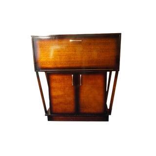 Mid-Century Modern Mahogany Dry Bar