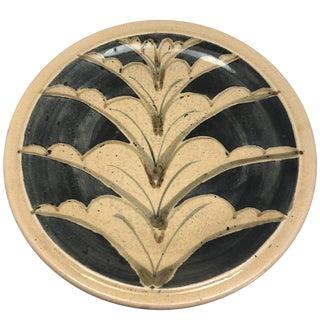 1970s Vintage Studio Pottery Platter For Sale