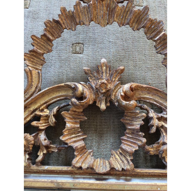 LaBarge Ornate Italian Giltwood Mirror - Image 4 of 9