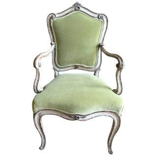 Rare Venetian Armchair, Circa 1760 For Sale