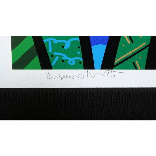 2000 - 2009 Behind the Bushes, Limited Edition Serigraph by Romero Britto For Sale - Image 5 of 7