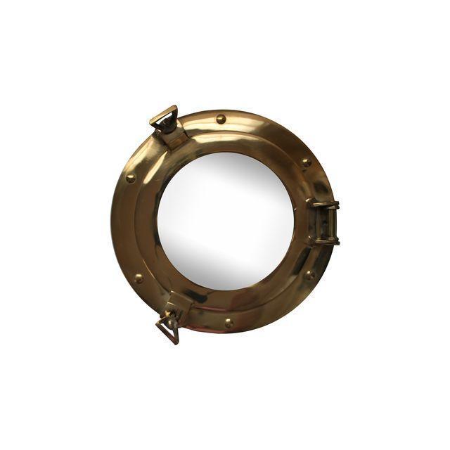 Brass Porthole Mirror - Image 1 of 2