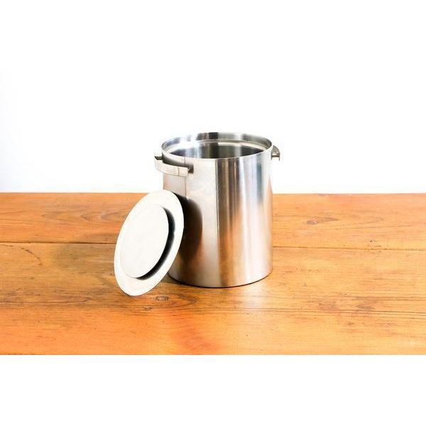 Vintage Arne Jacobsen for Stelton Stainless Steel Ice Bucket - Image 2 of 4