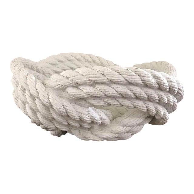 Cast Ceramic Rope Bowl - Image 1 of 4