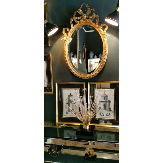 1950's Italian Stilnovo Diabolo Model Style Brass Applique Scones - a Pair For Sale - Image 10 of 13