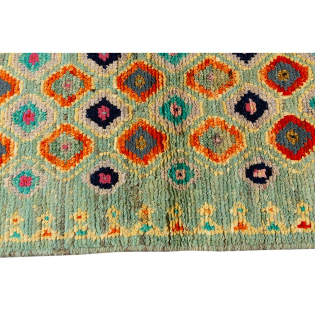 "Modern Gabbeh Rug, 1'11"" X 5'4"" For Sale In New York - Image 6 of 8"