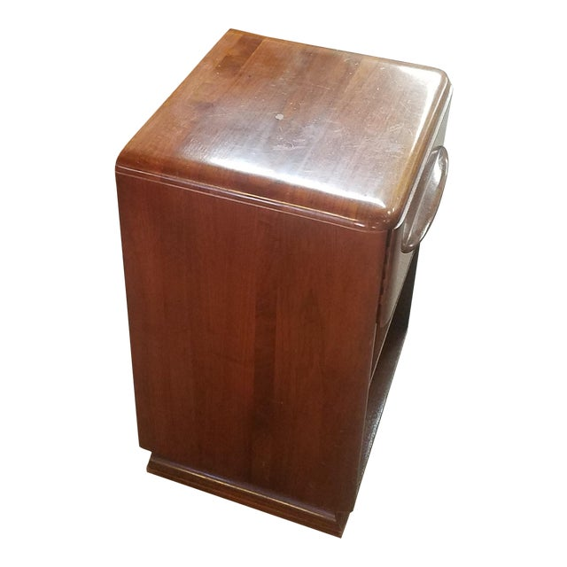 1950s Danish Modern Bissman Nighstand For Sale