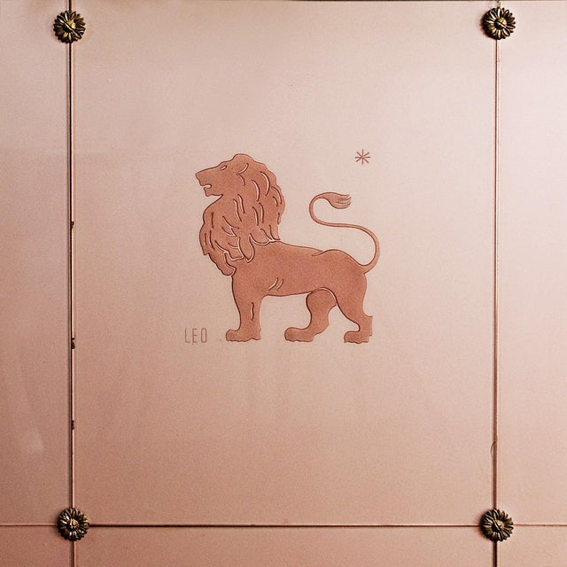 Art Deco Decorative Panel With Console, Attributed to Fontana Arte - Italy 1930 For Sale - Image 10 of 13