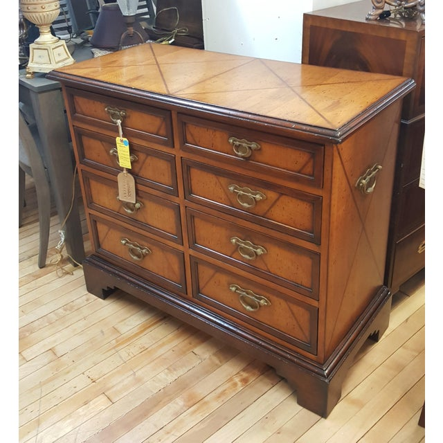 Brown Century Furniture Monarch Chest For Sale - Image 8 of 11