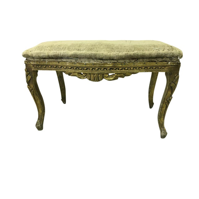 Louis XV Style Vintage Deconstructed Bench For Sale