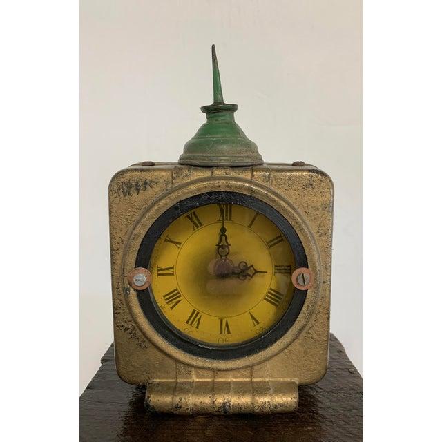 "Linda Semple ""Time to Make Something"" Folk Art Sculpture For Sale - Image 4 of 13"