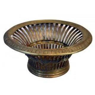 Silverplated Venetian Basket