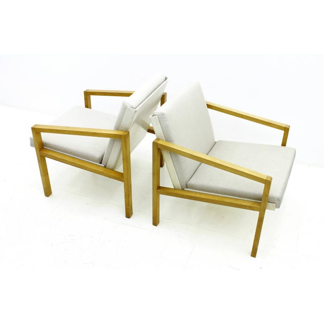 1950s Pair of Lounge Chairs by Hein Stolle, Spectrum, 1956 For Sale - Image 5 of 7