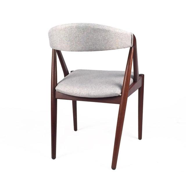 Vintage Danish Kai Kristiansen Model #31 Teak Dining Chairs - Set of 4 - Image 6 of 9