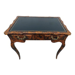 20th Century Regency Style Leather Top Writing Desk For Sale