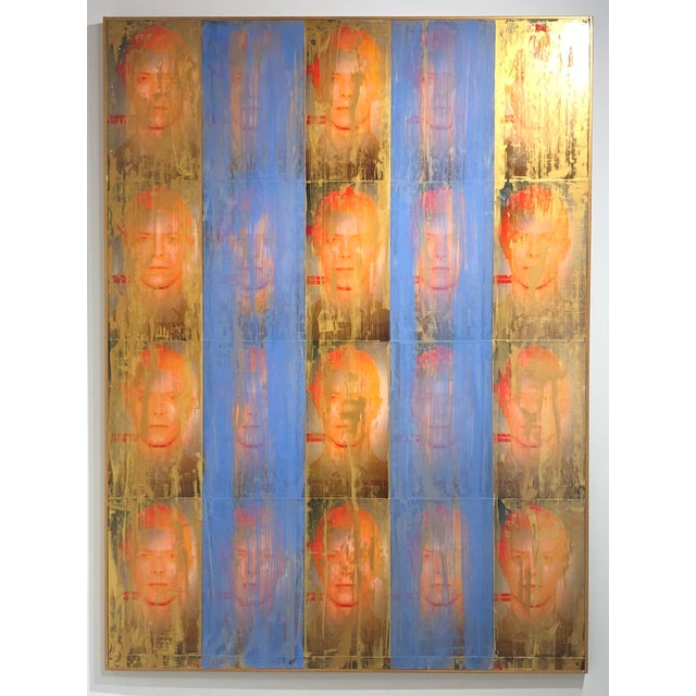 """""""Golden Years"""" Mixed Media Painting by Dan J Leahy For Sale In West Palm - Image 6 of 7"""