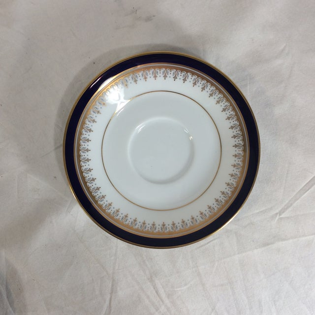 Noritake Legacy by Noritake Grand Monarch China Saucers - Set of 4 For Sale - Image 4 of 10