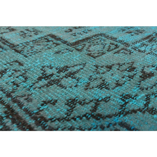 "Vintage Turkish Overdyed Rug - 5'5"" x 8'10"" - Image 2 of 2"