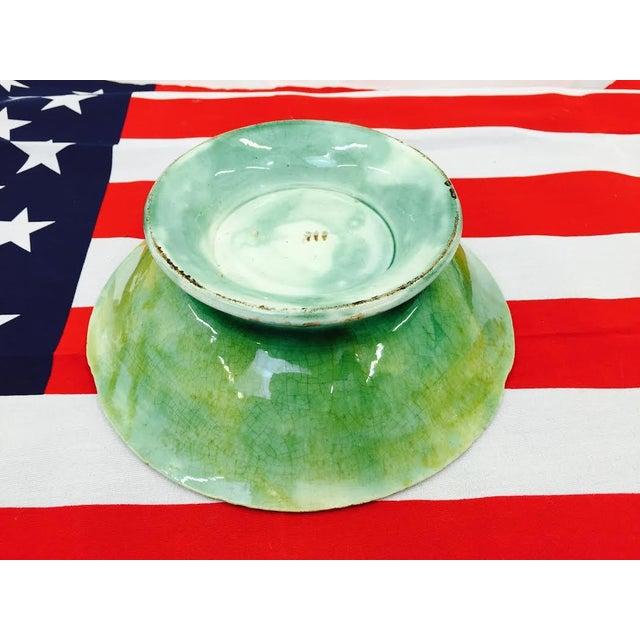 Antique Majolica Leaf Dish - Image 6 of 6