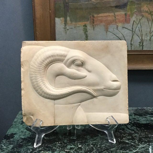 Rams Head Art Plaque - Image 3 of 7