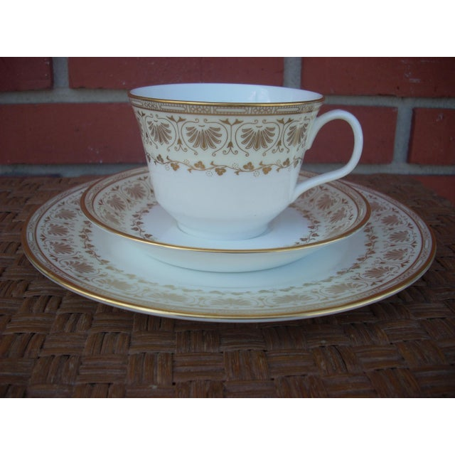 Minton Dessert Set - 3 Pieces - Image 2 of 4