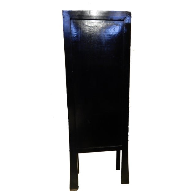 Black Lacquer Armoire - Image 8 of 10