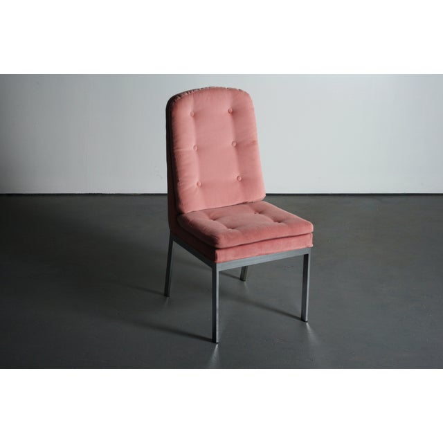 Milo Baughman for DIA Blush Dining Chairs - S/6 For Sale - Image 10 of 12