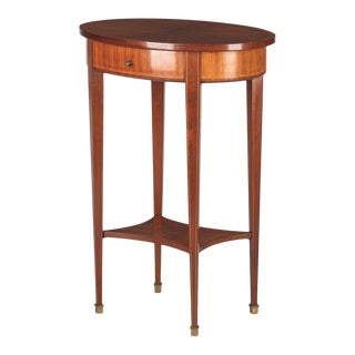 Louis XVI Style Mahogany Side Table For Sale