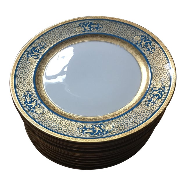 Rosenthal Bavaria Ivory Chargers - Set of 12 - Image 1 of 6