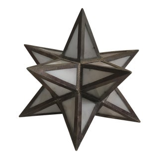 Geometric Metal Light Shade