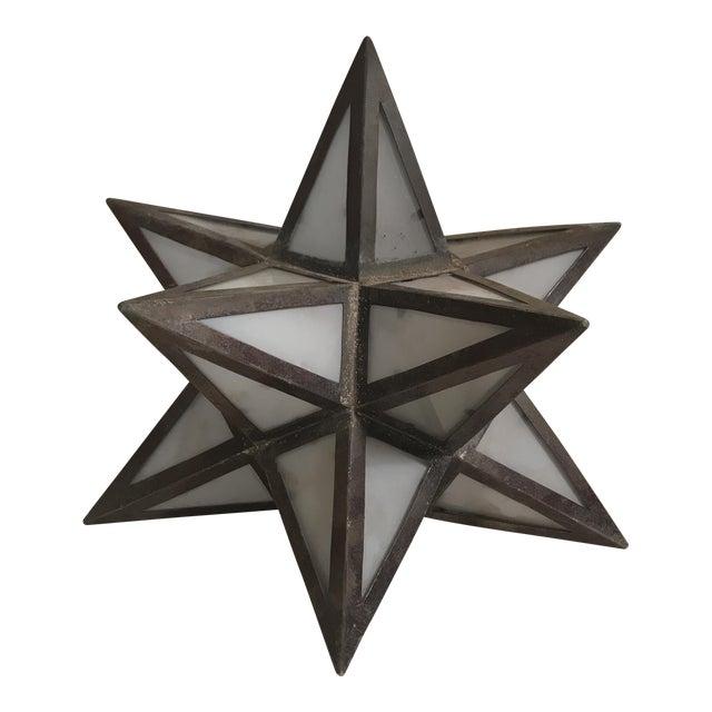Geometric Metal Light Shade - Image 1 of 5