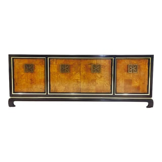Vintage Mid-Century Asian Ming Style Credenza Dresser