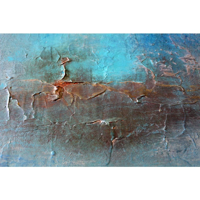 """Inca"" Original Textured Abstract Painting - Image 3 of 5"