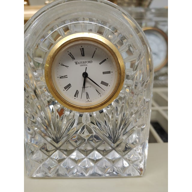1990s 1990s Waterford Crystal Clock For Sale - Image 5 of 5