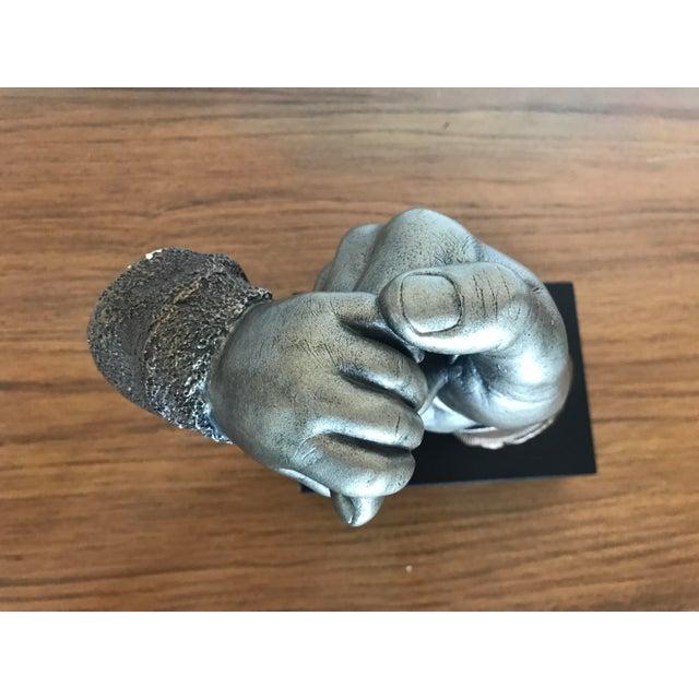 "Bronze ""Daddy's Baby"" Sculpture - Image 10 of 10"