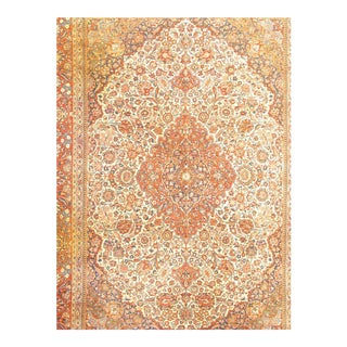 Pasargad NY Original Kashan Hand-Knotted Rug - 9' X 12' For Sale