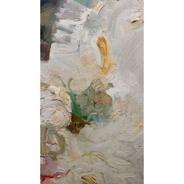 Joan Jacobs - 1959 Abstract Oil Painting For Sale - Image 4 of 11