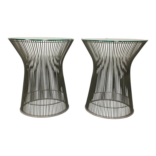 Warren Platner by Knoll Side Tables - A Pair - Image 1 of 8