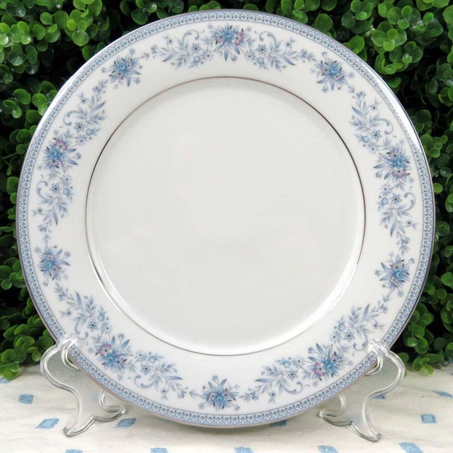 Vintage Mismatched Fine China Dinner Plates - Set of 4 - Image 4 of 8